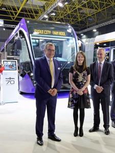 Belfast BRT handover