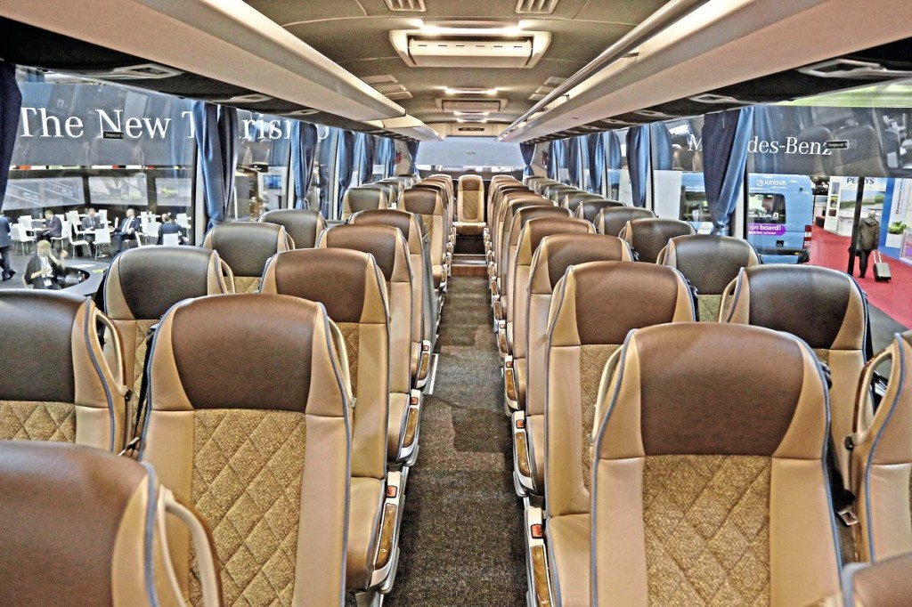Evobus New Tourismo interior