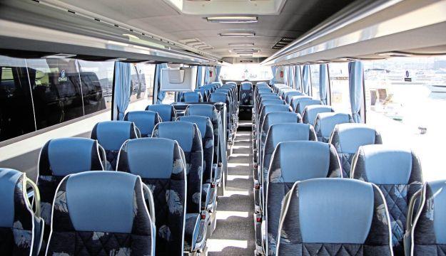 The interior of the Tourismo L