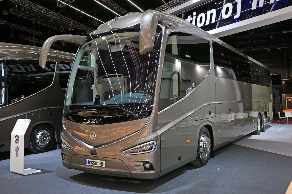 Irizar i8 International Coach of the Year 2018