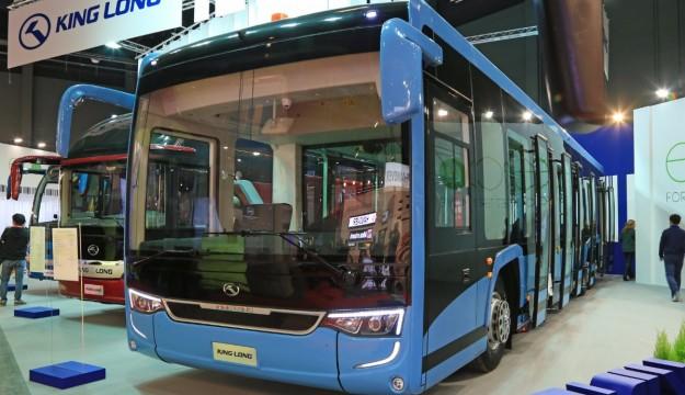 King Long airside electric bus