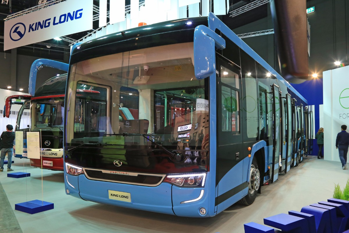 King Long airside electric bus