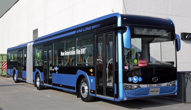 King Long new generation 18m BRT