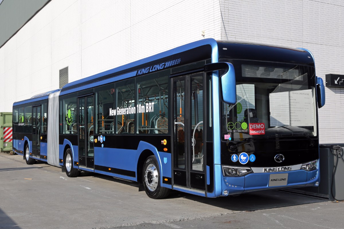 King Long new generation 18m BRT
