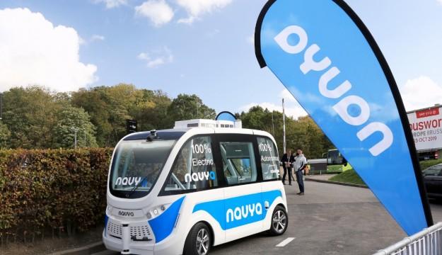 Navya autonomous vehicle