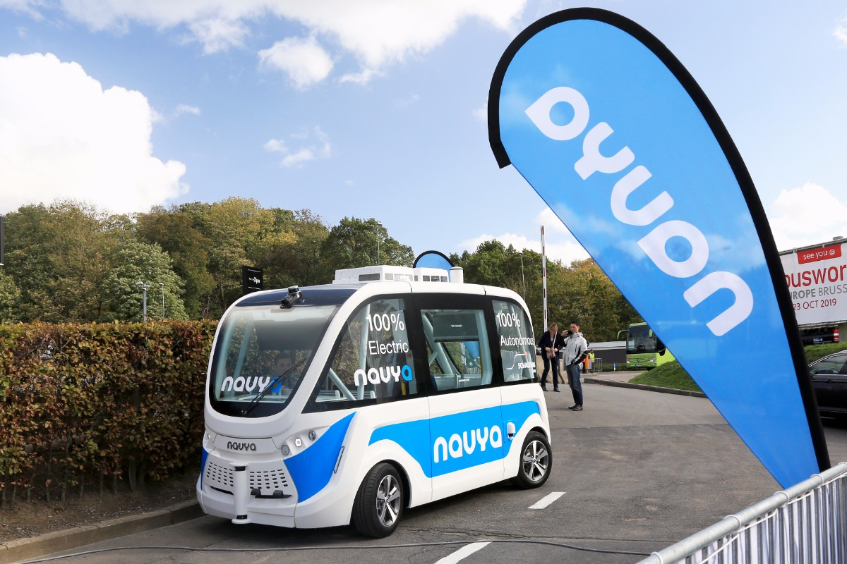 Navya autonomous vehicle