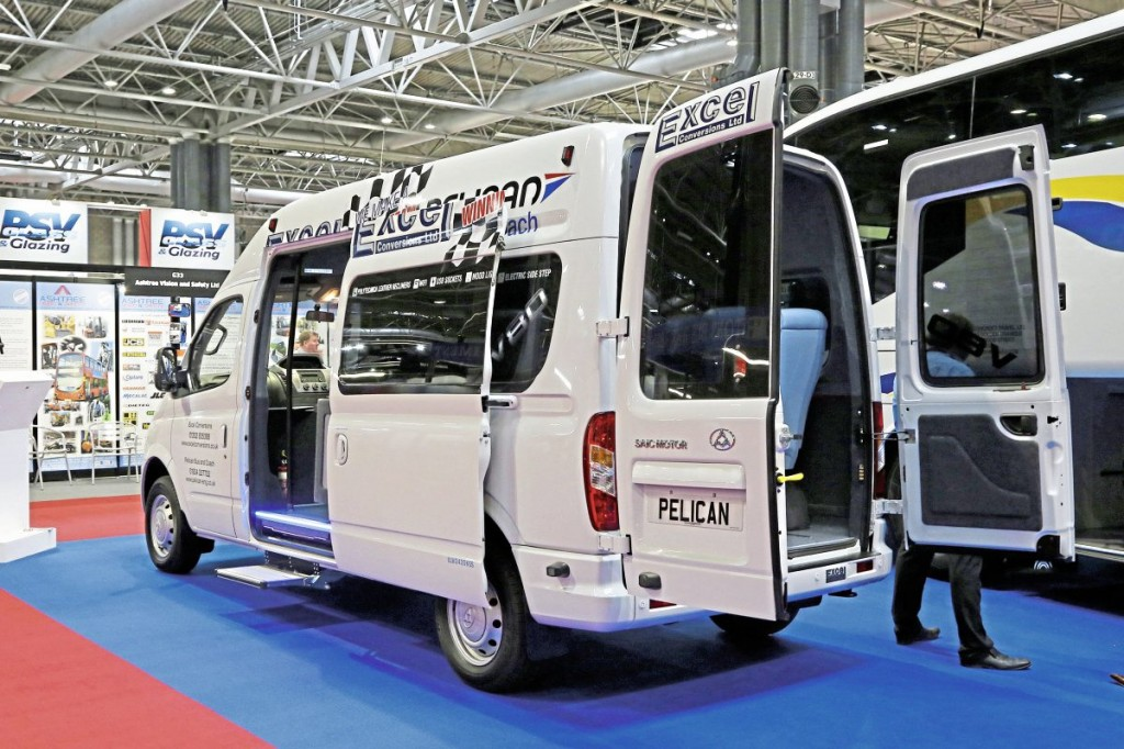 Pelican LDV V80 rear nearside