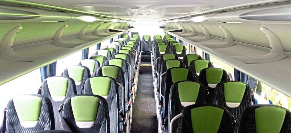 The interior of the 57-seater has garnered some positive comments from passengers