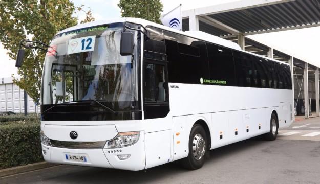 Yutong electric coach