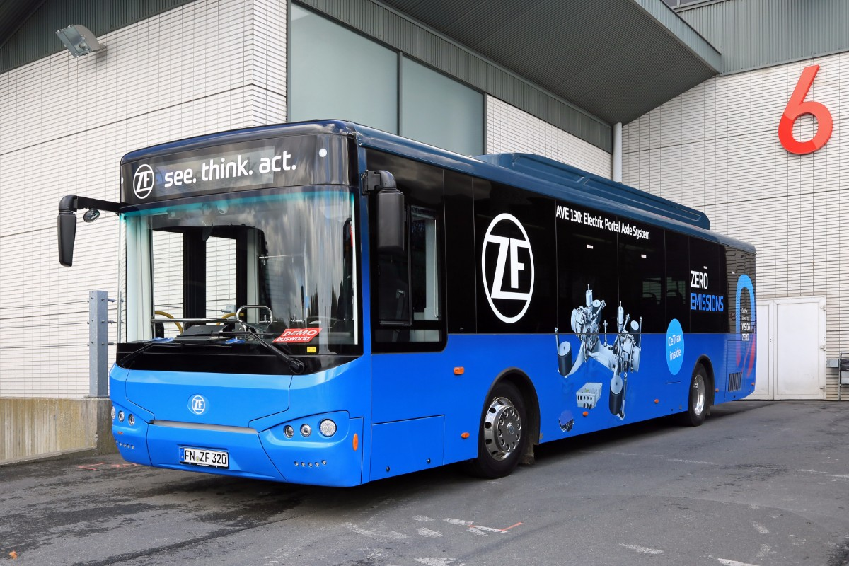 ZF Higer electric bus