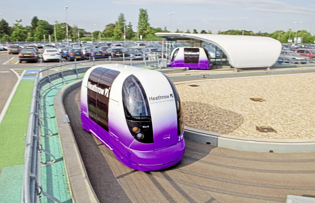 The Heathrow POD service is an example of an automated passenger system that has proven successful
