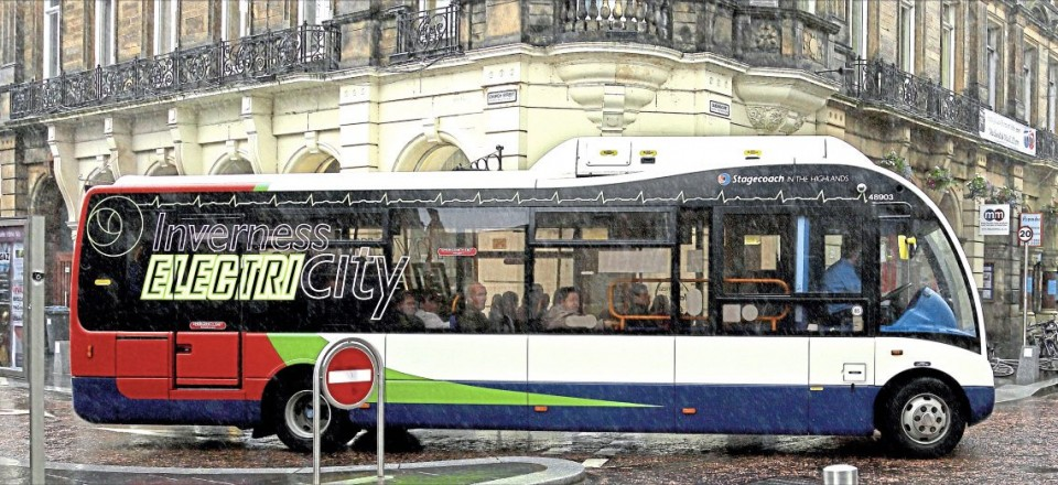 They've come a long way - here's the familiar shape in electric drive, delivered to Stagecoach in 2015