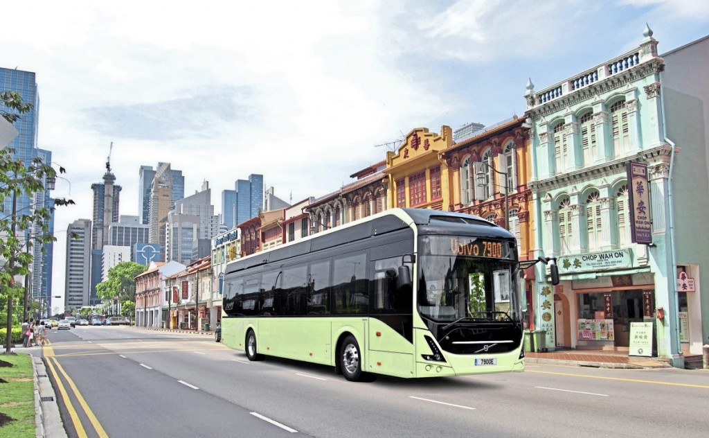 Volvo is working on a development programme for electric autonomous buses in Singapore