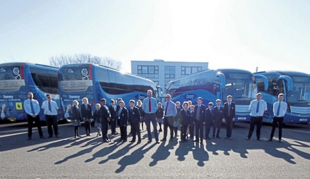 Damory introduces upseated coaches