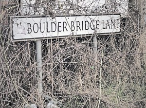 Boulder Bridge Lane near Barnsley is the stuff of legend; the place where buses and coaches meet their maker.