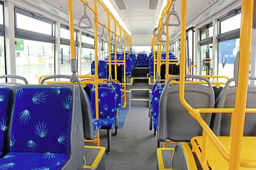 Yutong E10 interior