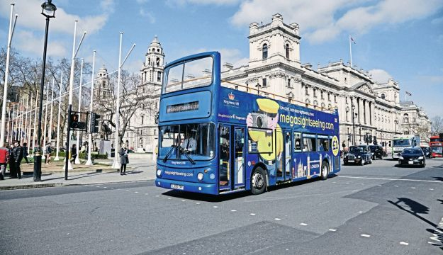 megabus goes megasightseeing with converted deckers