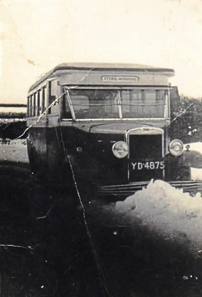 An early coaching influence may have been Allan's father who drove coaches and managed a company running Bedfords and a Chevrolet in the 1930s -img4