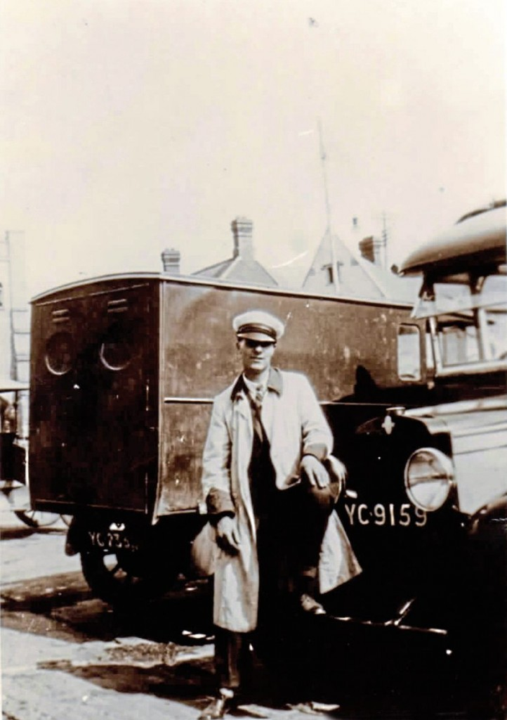 An early coaching influence may have been Allan's father who drove coaches and managed a company running Bedfords and a Chevrolet in the 1930s -img5