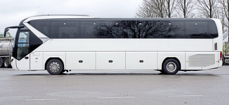 Right on the money - MAN Truck & Bus in Manchester has stock of no fewer than ten of the new 13.1-metre, two-axle Tourliner
