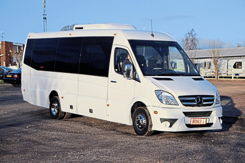This Euro VI Mercedes-Benz Sprinter 519 with 19-seat coachwork by Swansea has just been sold. Allan bought it from an operator that wanted to do a straight deal for a new purchase