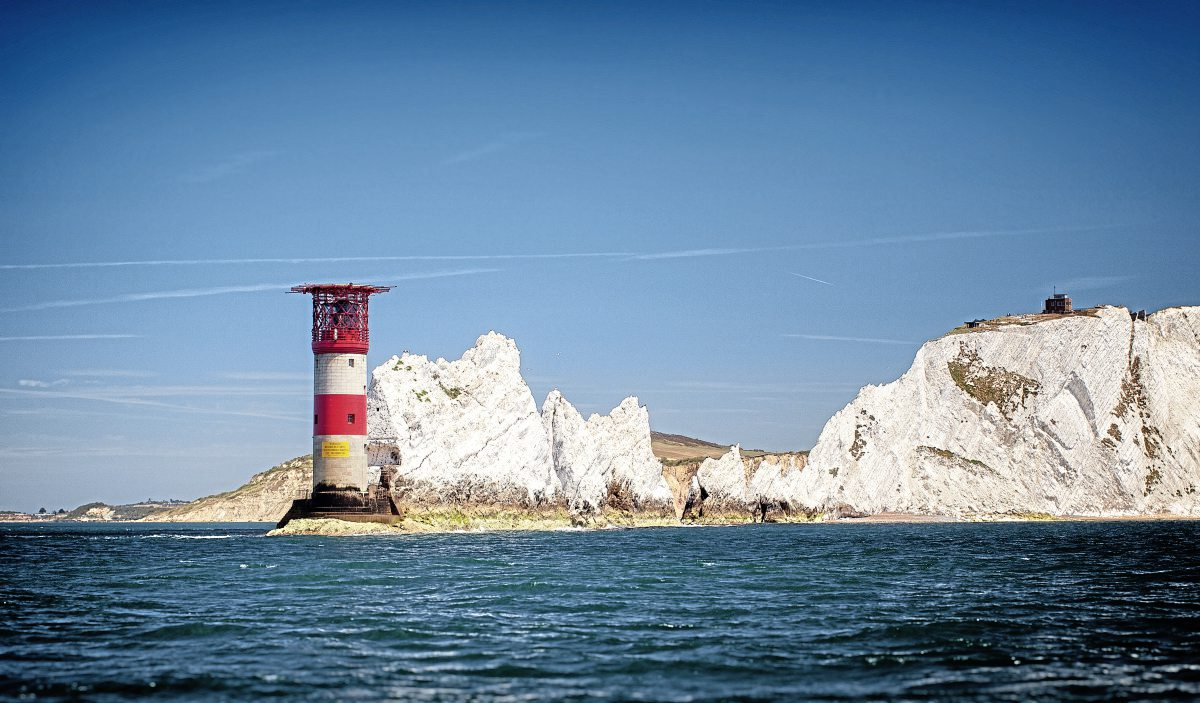 Phil is keen to promote the Isle of Wight.  Picture courtesy of www.visitisleofwight.co.uk