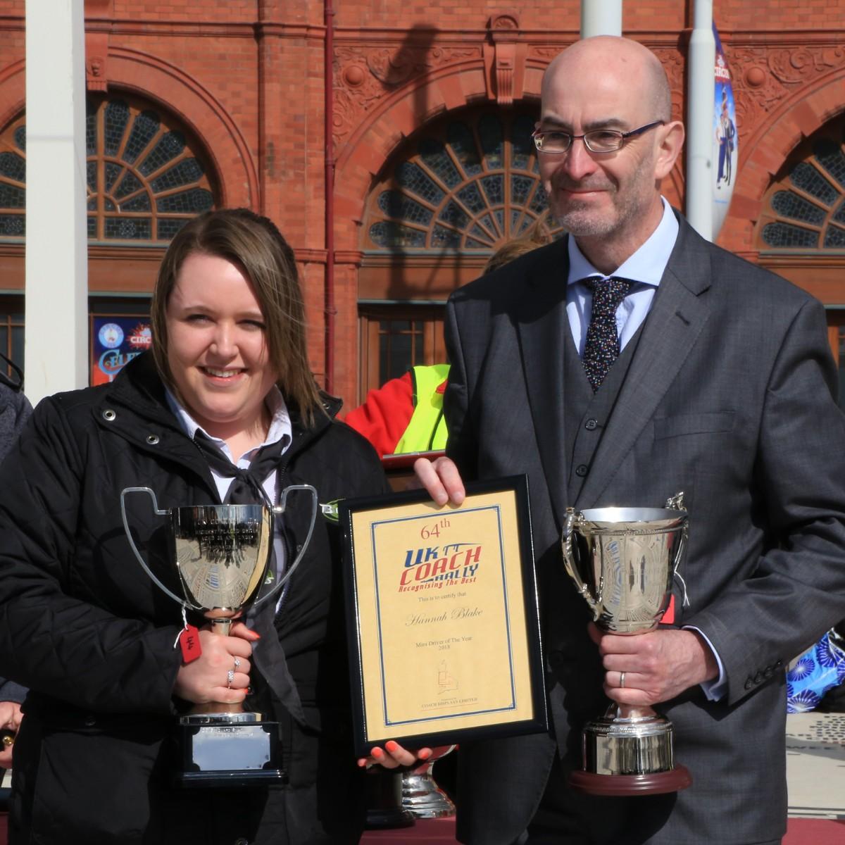 Mini Driver of the Year - Hannah Blake, Blakes Coaches