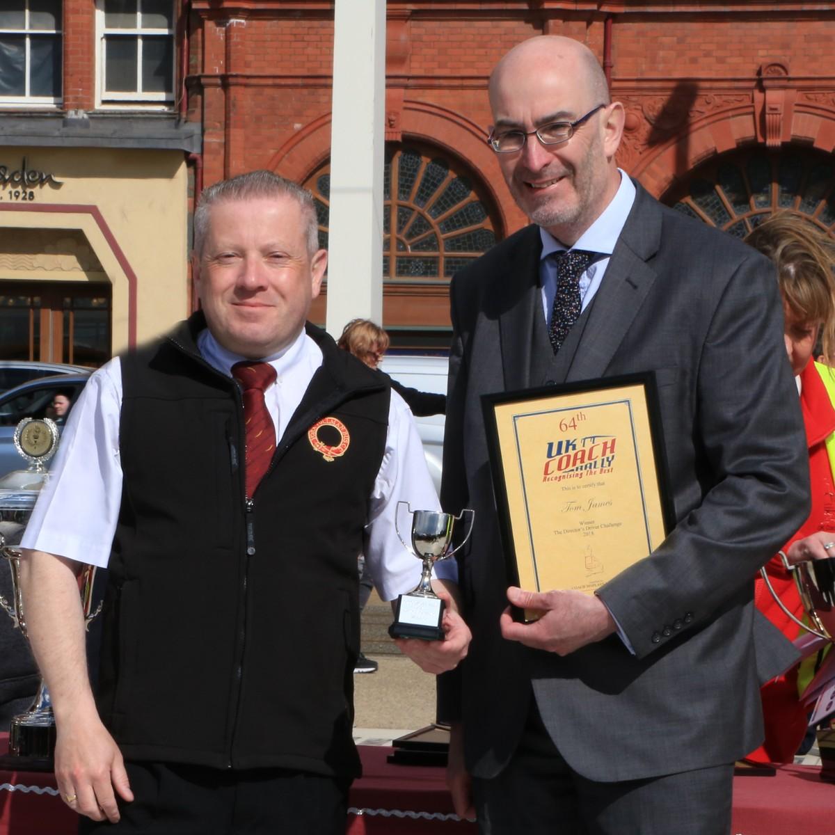 Directors Challenge Trophy - Tom James, York Pullman