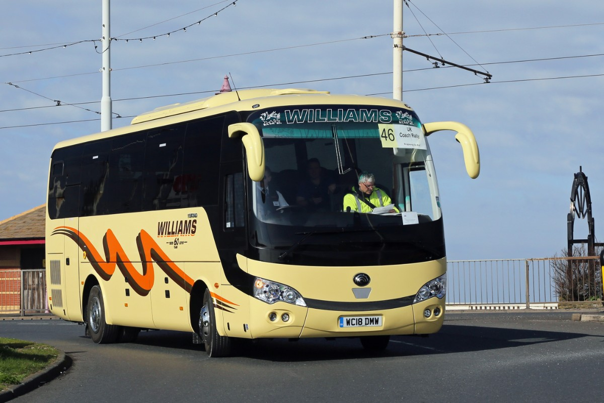 Williams Coaches of Brecon - Yutong TC9