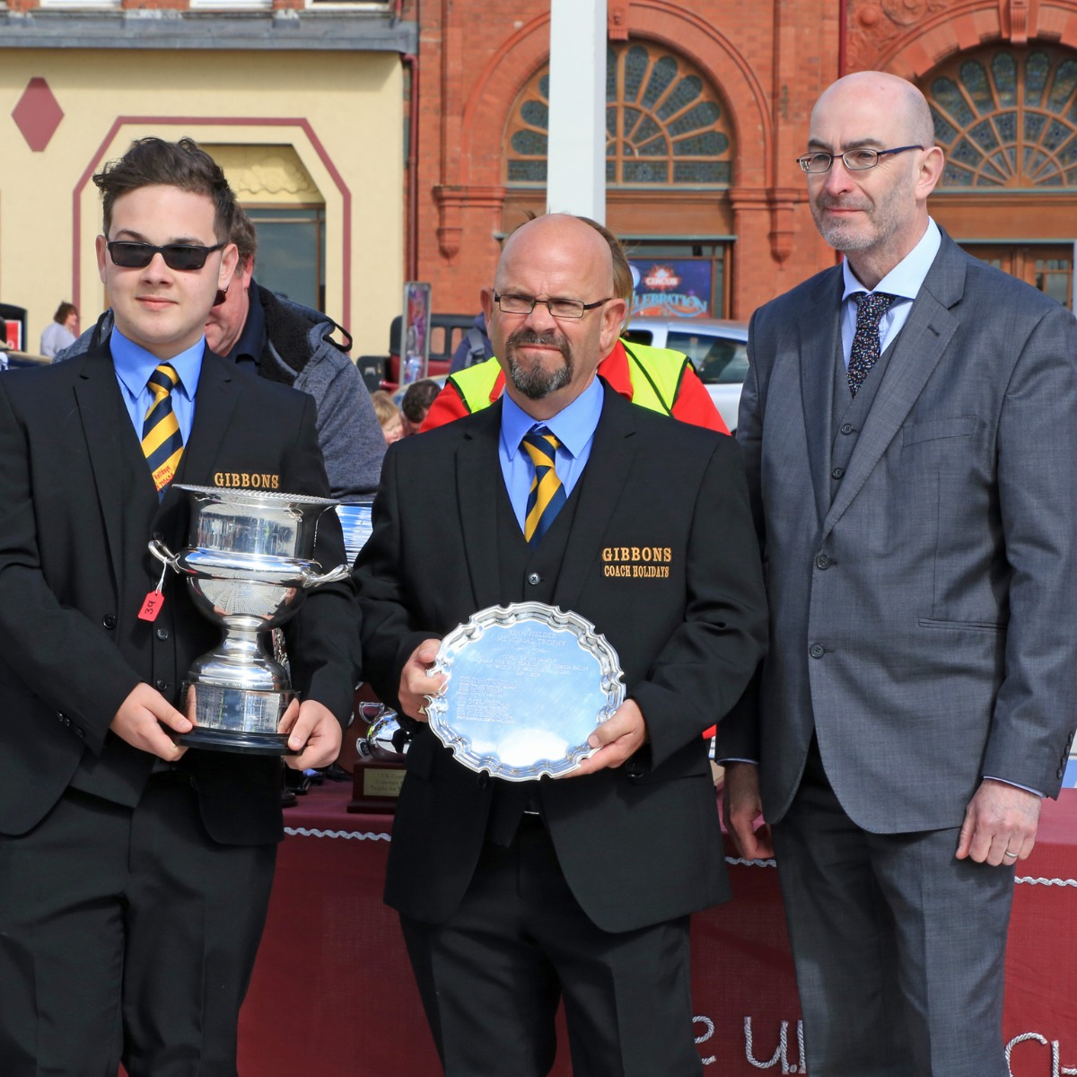 John Fielder Memorial Trophy for top coach from a small fleet - Gibbons Coach Holidays