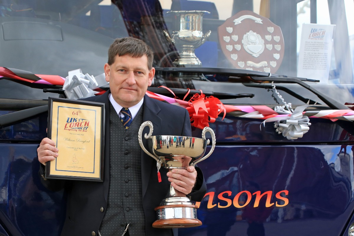 UK Coach Rally Driver of the Year - Billy Brayford, Robinsons Holidays