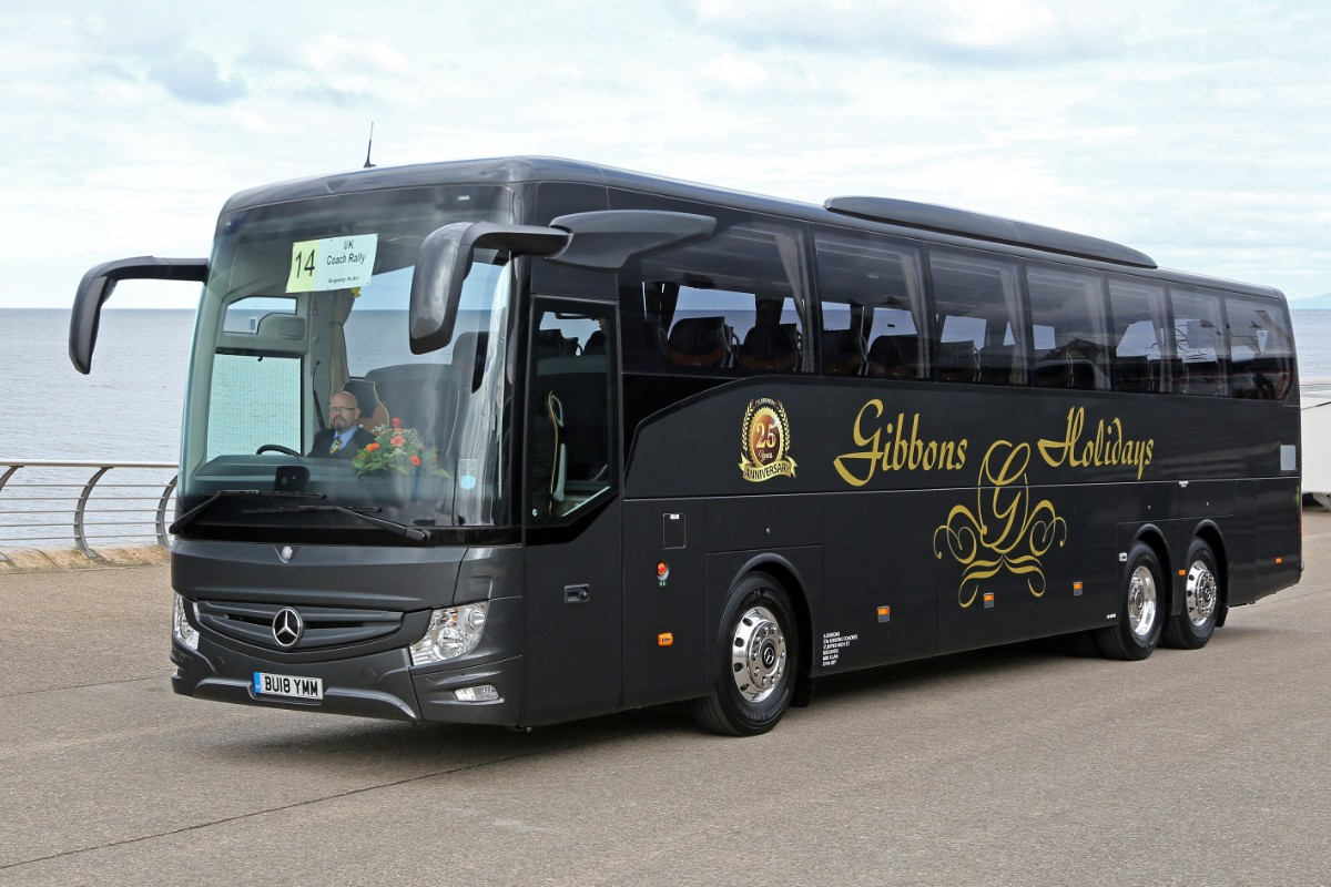 Gibbons Coach Holidays - Mercedes-Benz Tourismo 3