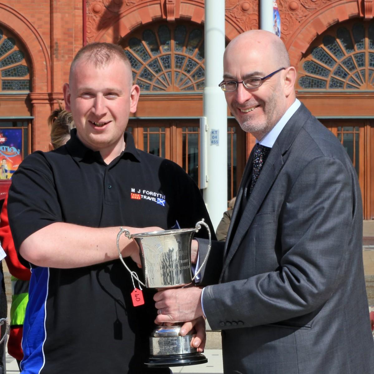 Tony Roose Trophy - MJ Forsyth Travel