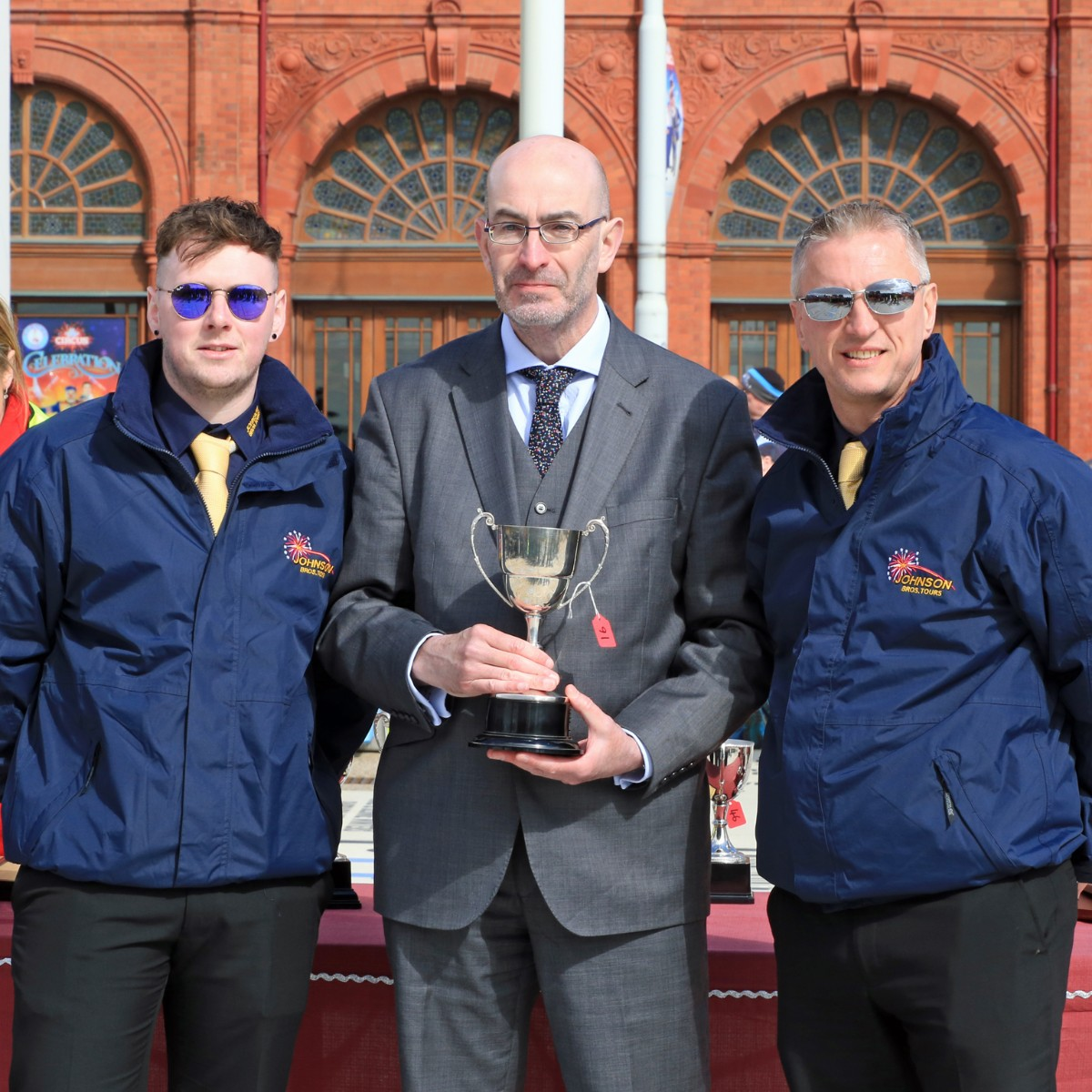 Rita Dalziel Trophy for top coach aged 25 years or older - Johnson Bros Tours