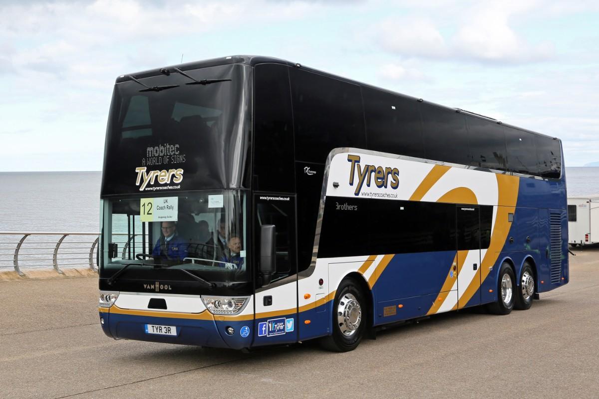 Tyrers Coaches - Van Hool Astromega