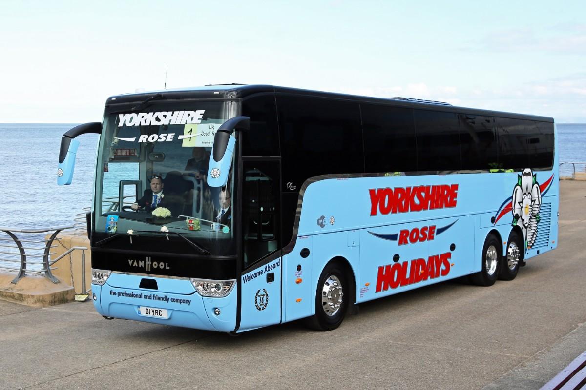 Yorkshire Rose Holidays - Van Hool TX16 Acron