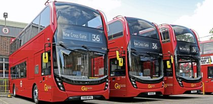 Enviro400H – now with ultra-capacitors