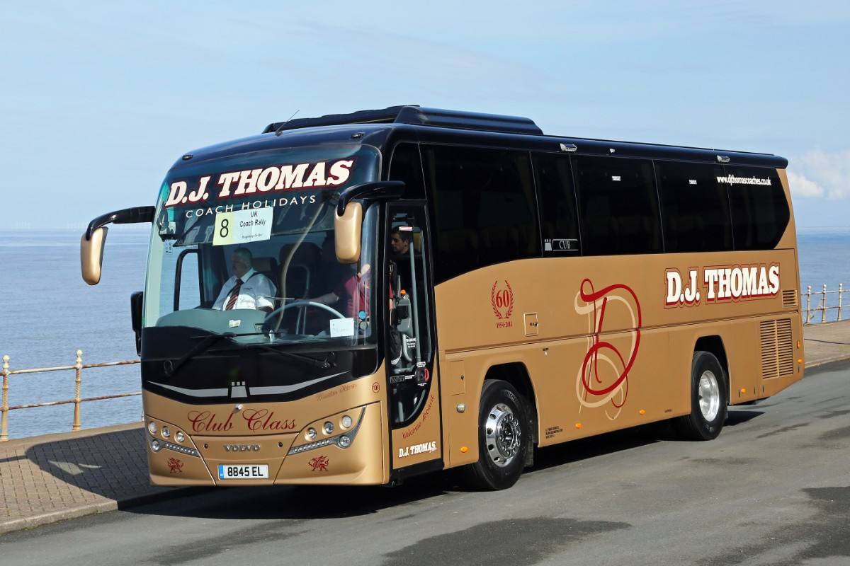 DJ Thomas Coaches - Plaxton Panther Cub