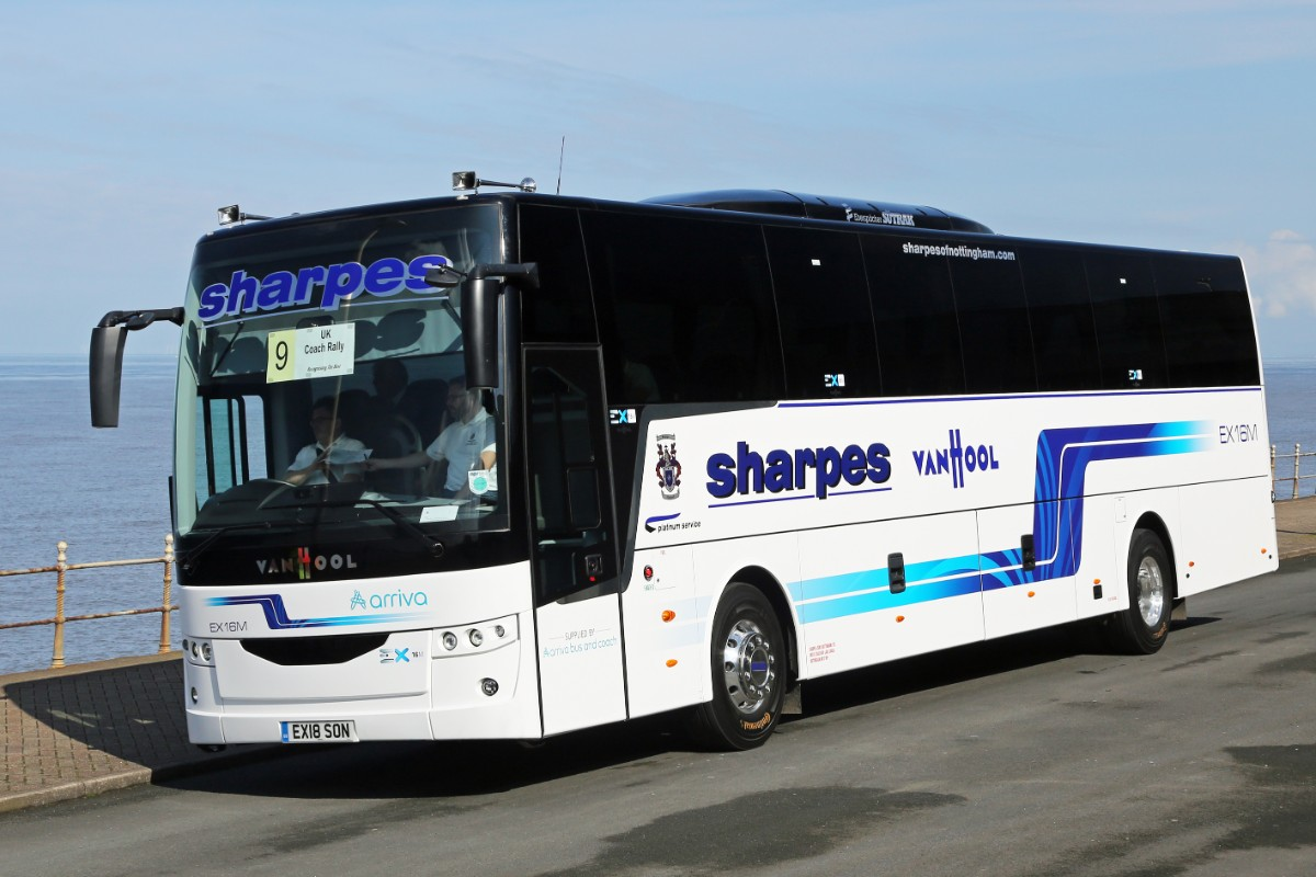 Sharpes of Nottingham - Van Hool EX16M