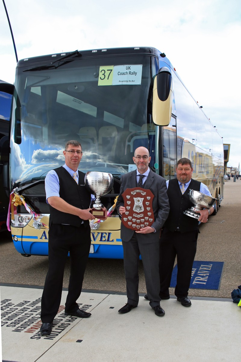 UK Coach Rally Coach of the Year - A&P Travel, Van Hool TX16 Acron