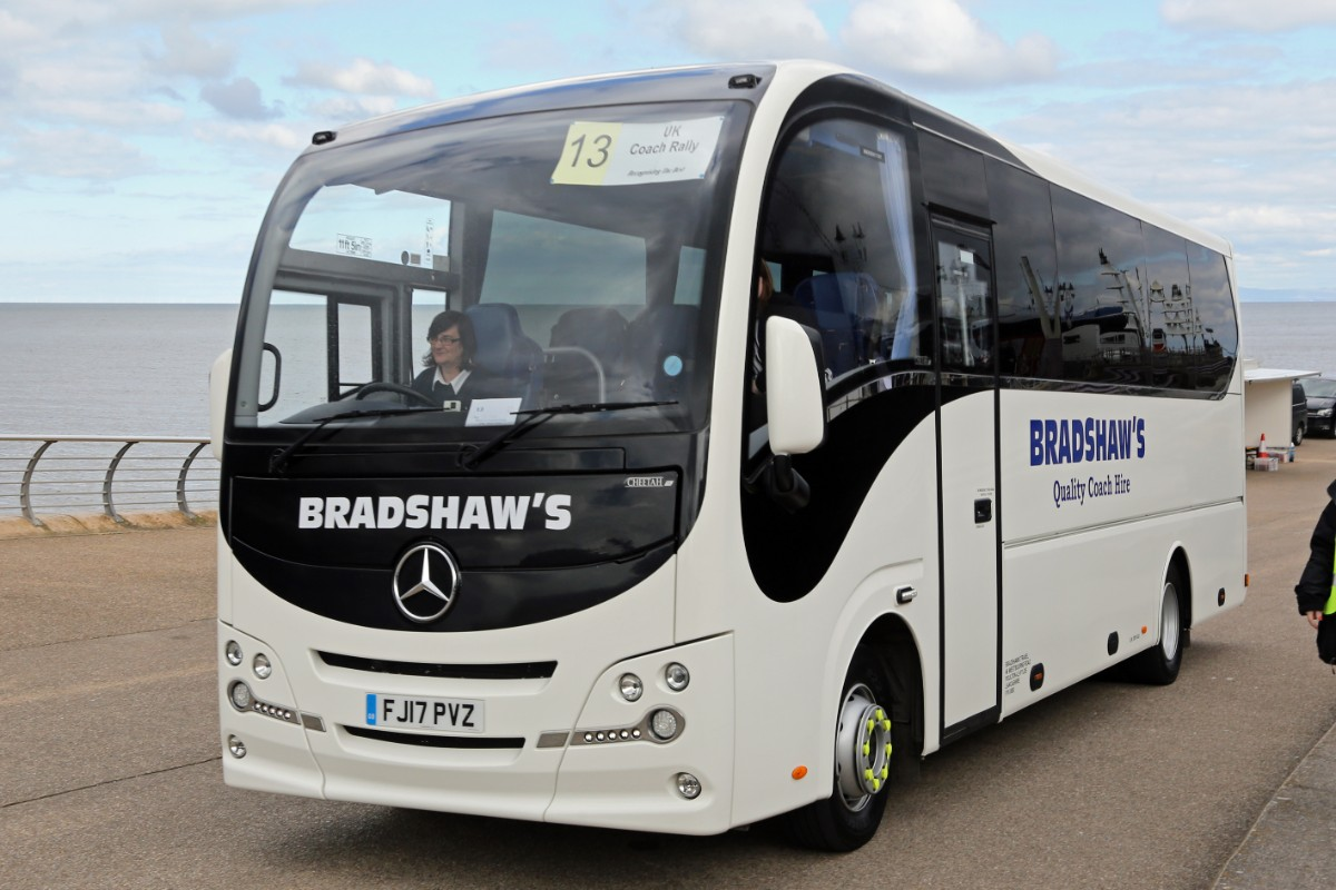 Bradshaws Travel - Plaxton Cheetah XL