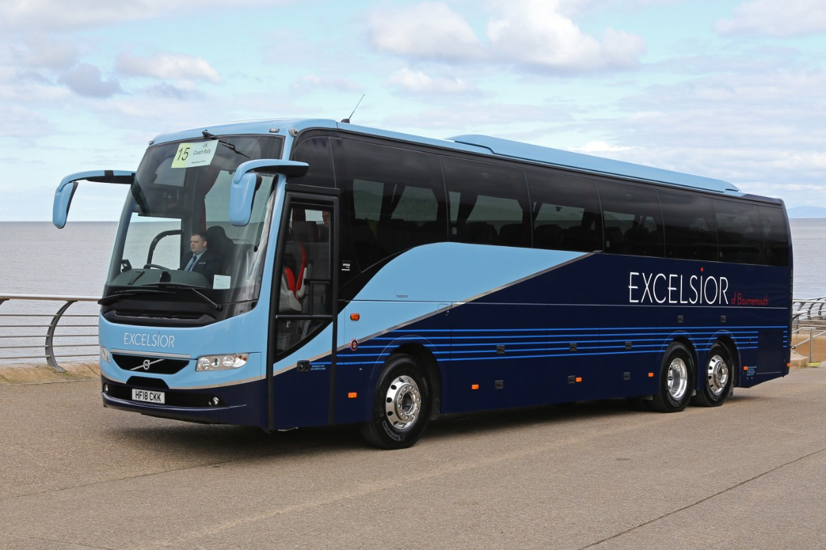 Excelsior Coaches - Volvo 9700