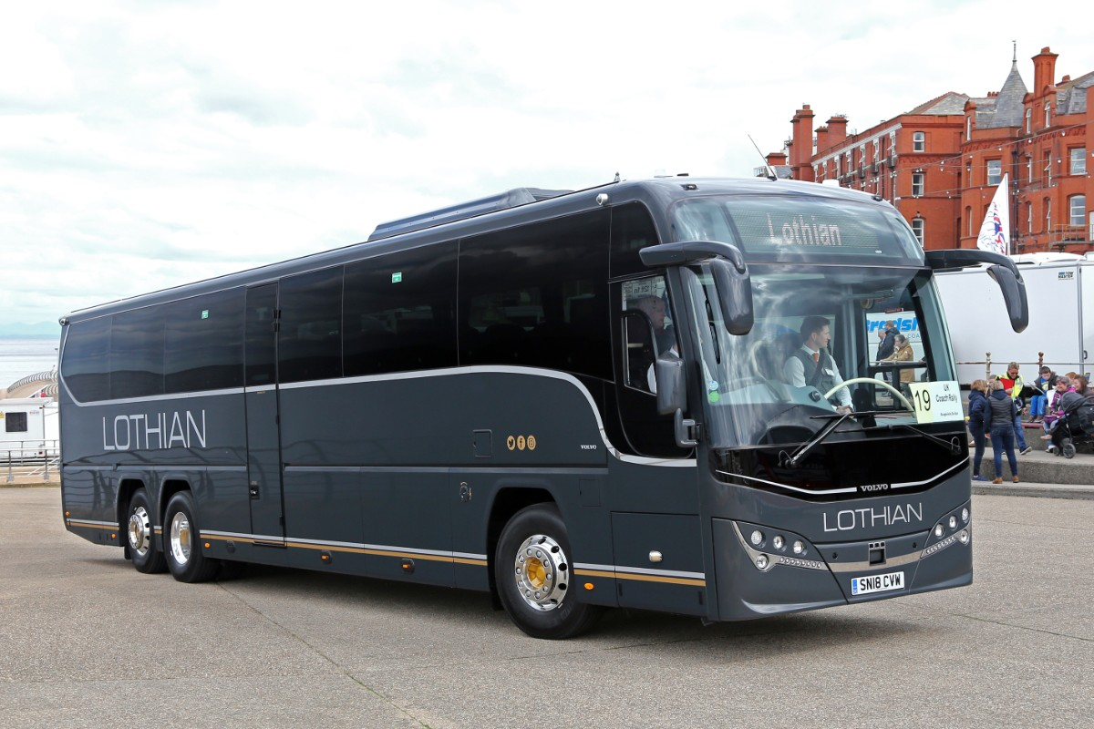 Lothian Motorcoaches - Plaxton Panther 3