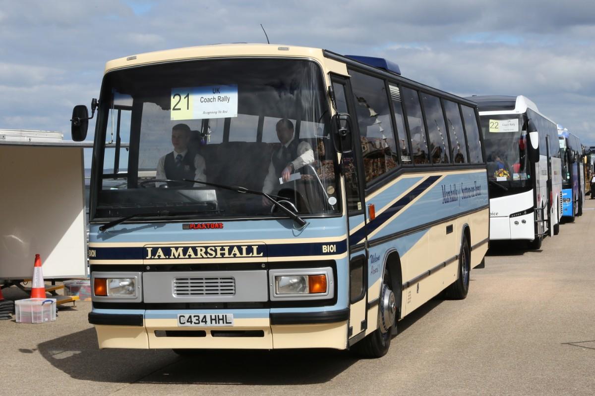 Marshalls of Sutton-on-Trent - Plaxton Paramount 3200