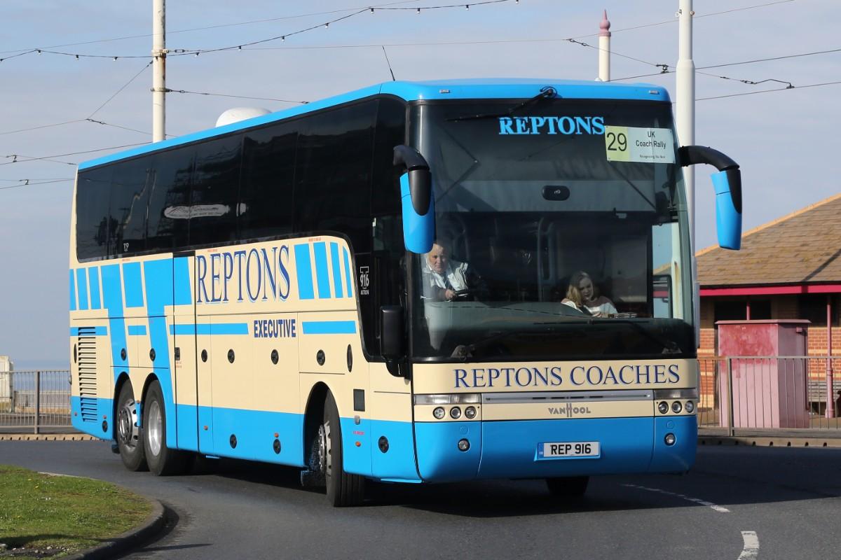 Reptons Coaches - Van Hool T916 Astron