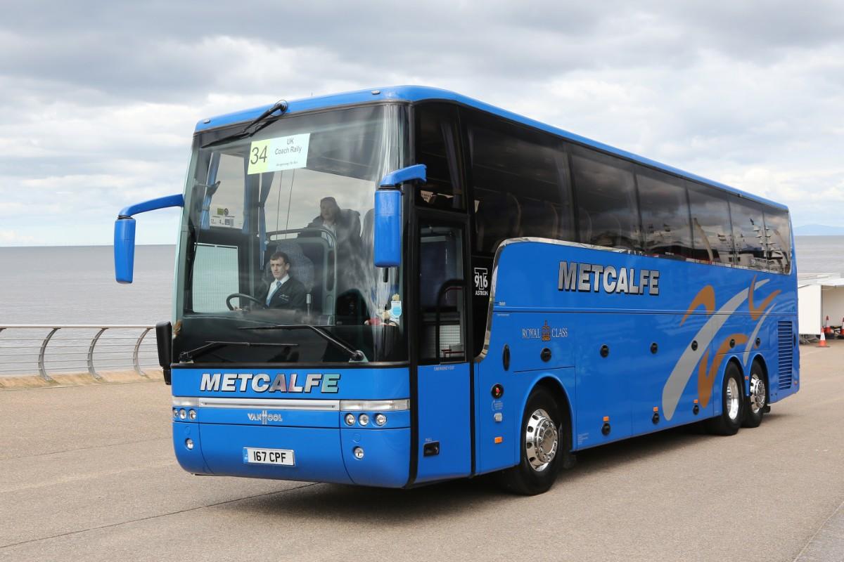 Metcalfe Coaches - Van Hool T916 Astron