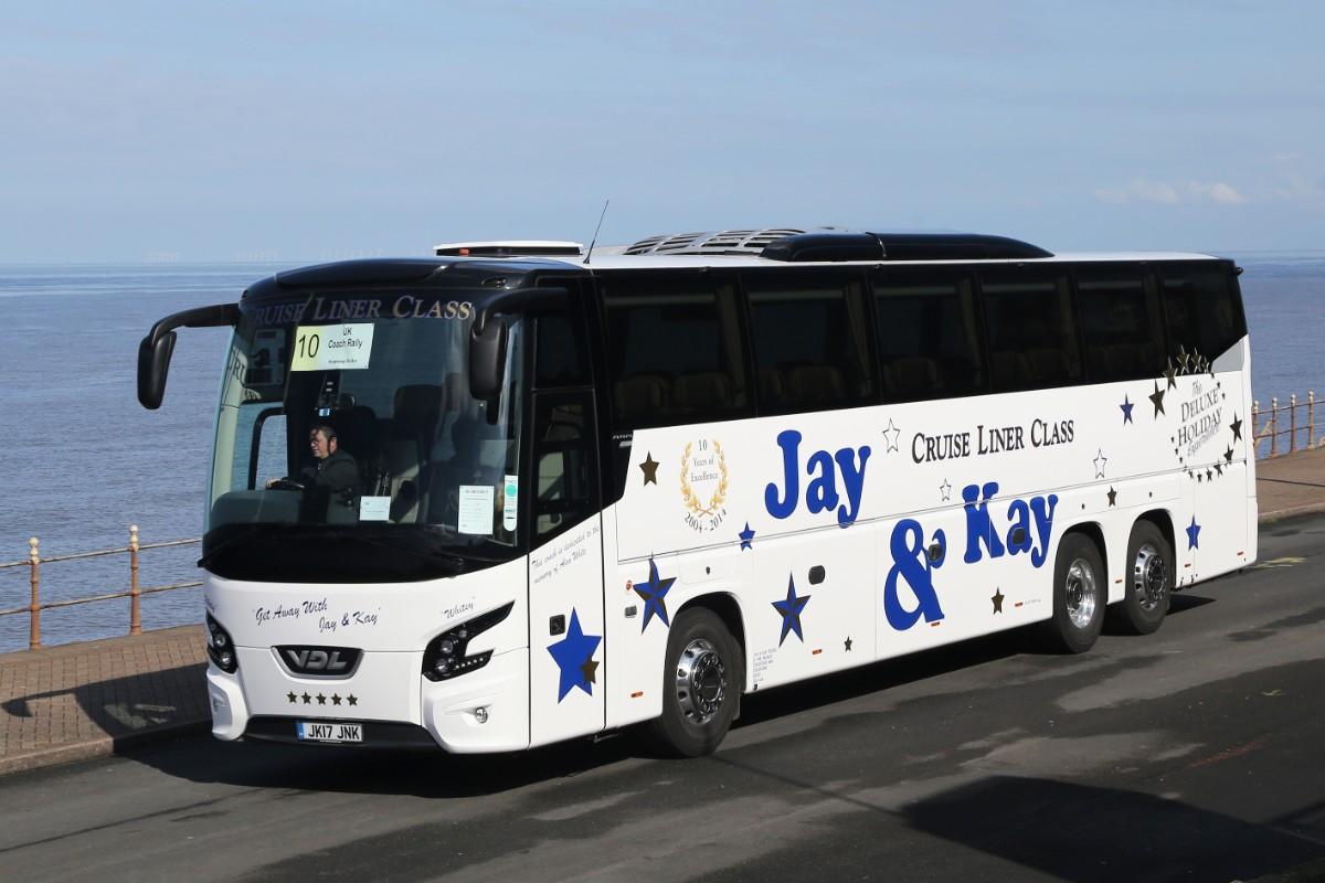 Jay & Kay Coach Tours - VDL Futura FHD2