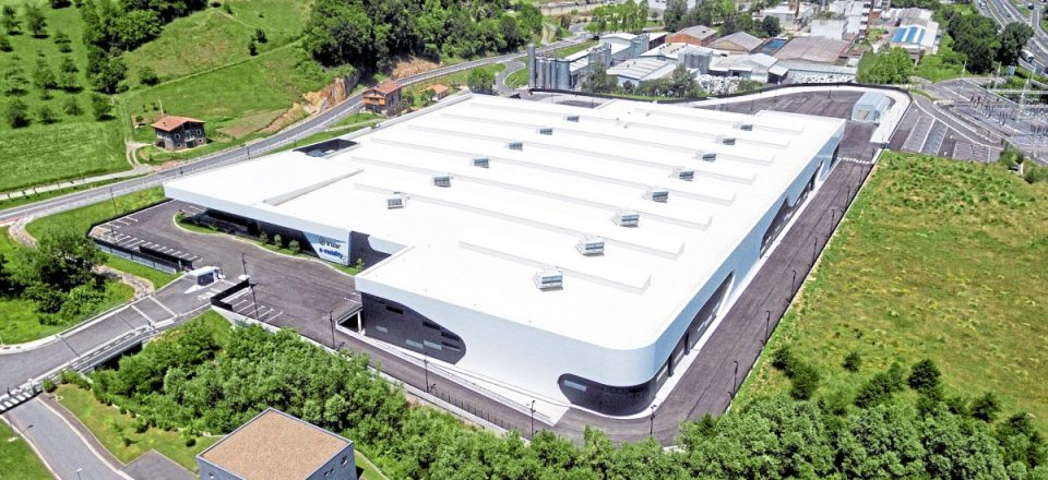 Irizar has invested €75m in the new facility