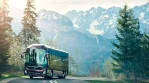 Volvo goes integral with new 9000 series coach
