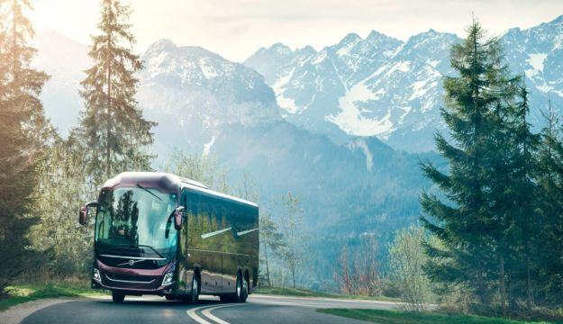 In Pictures: Volvo goes integral with new 9000 series coach